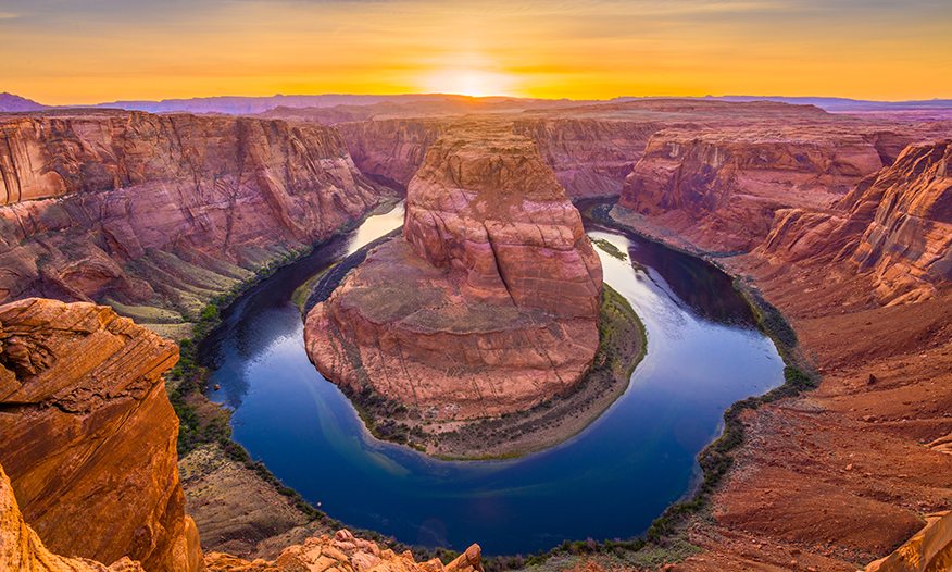 Horseshoe Bend at Lake Powell