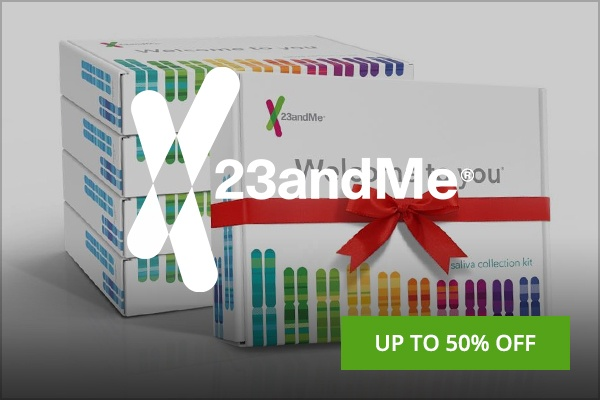 23andMe Black Friday deal