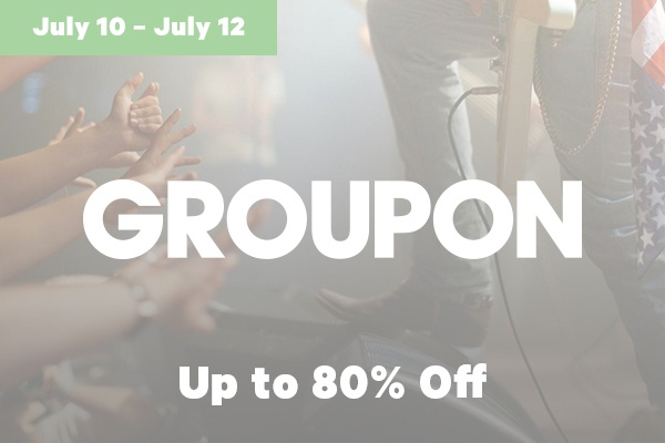 Groupon Black Friday in July Sales