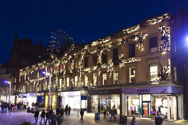 Prince's Street Glasgow