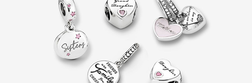 pandora charms mother's day