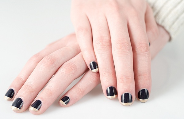 Five Nail Art Design Ideas to Spice Up Basic Manicures_Goth
