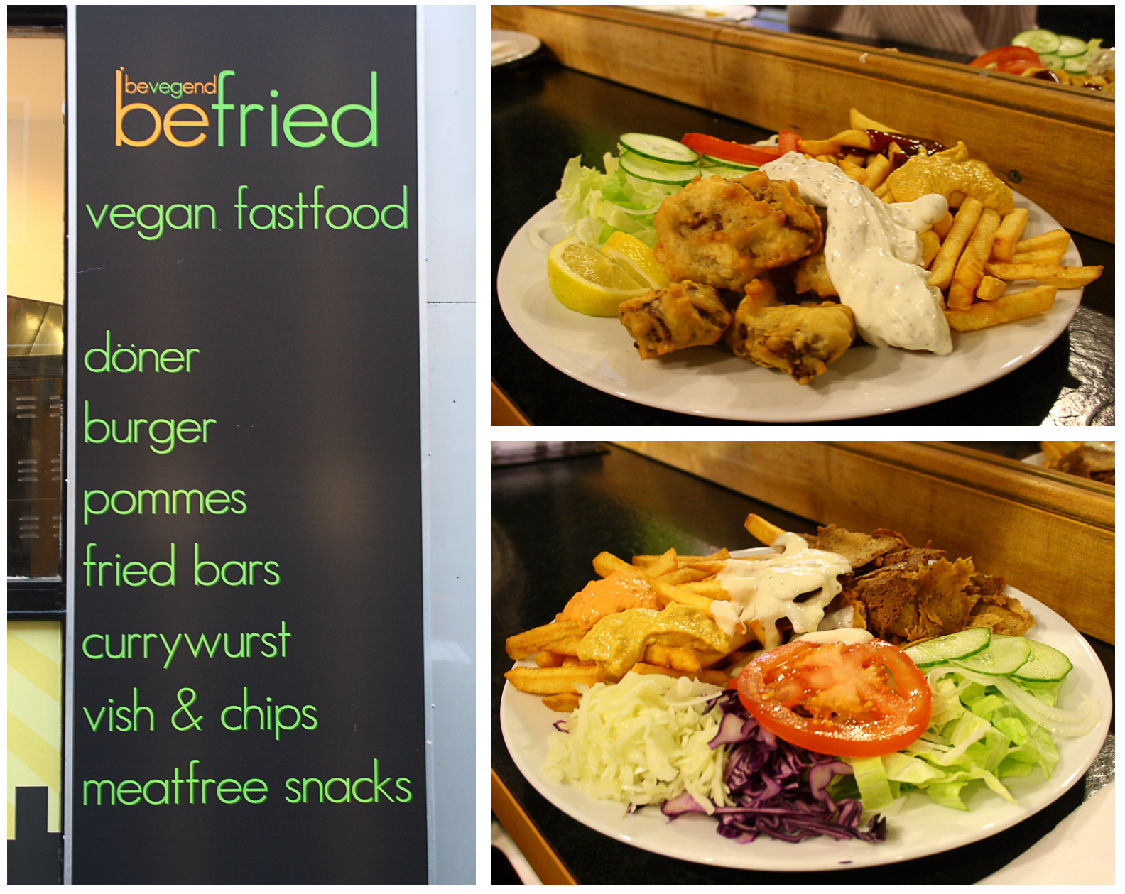Befried - Vegane Burger auf dem Kiez