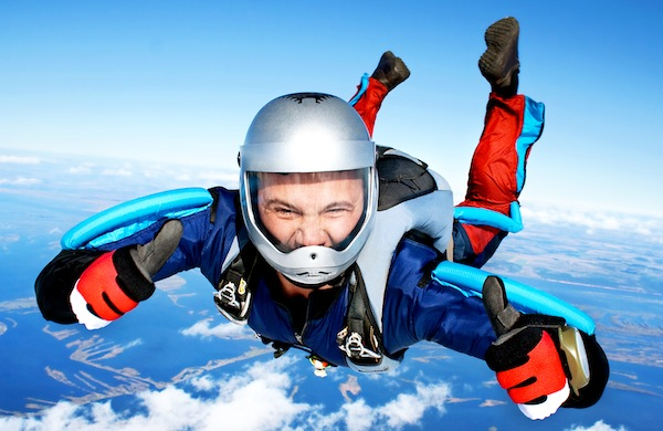 How Gravity Makes Skydiving Possible