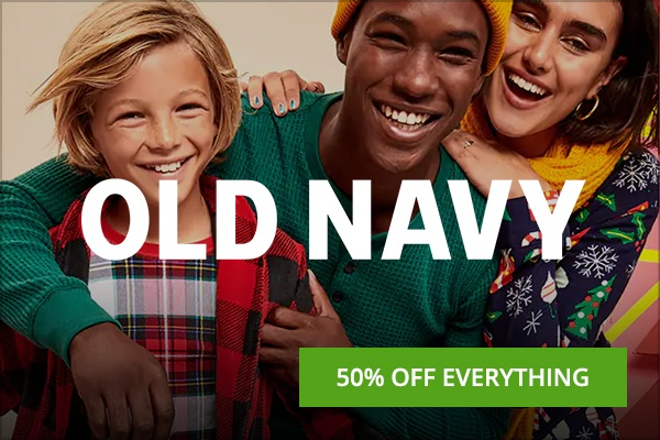 Old Navy Cyber monday deal