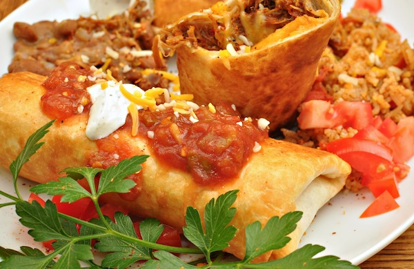 How the Chimichanga Was Invented in Tucson By Accident