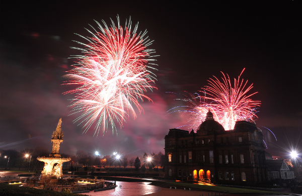 Fireworks Glasgow - The Best Displays Across the City