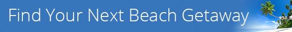 beach getaways banner