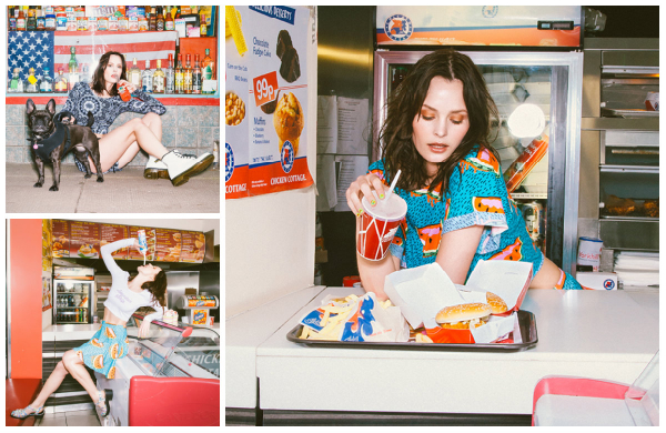 Fast Food Fashion! Abandon Ship Apparel Womenswear Collection