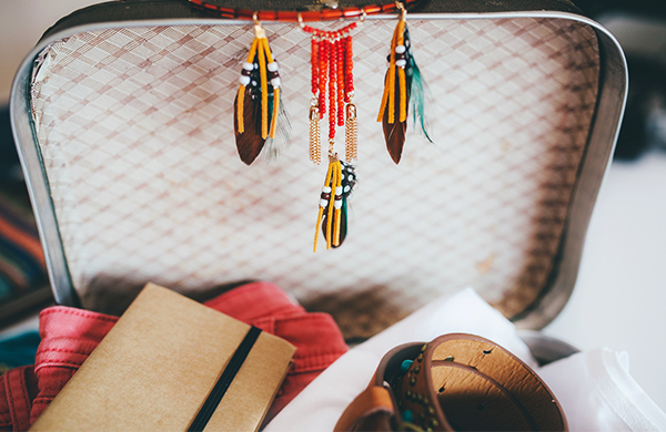 How to Pack Necklaces In a Suitcase Without Tangling Them