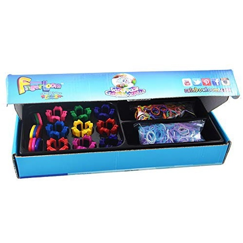 Rainbow Finger Loom Party Pack
