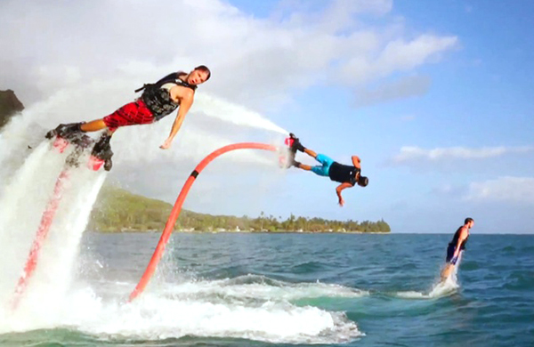 The Water Jet Pack: The Extreme Water Sport Anyone Can Do