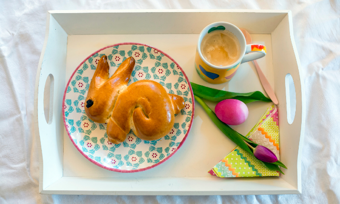 Traditional easter foods