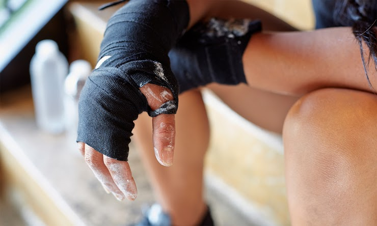 Learn How Athletic Tape Helps Support Your Muscles