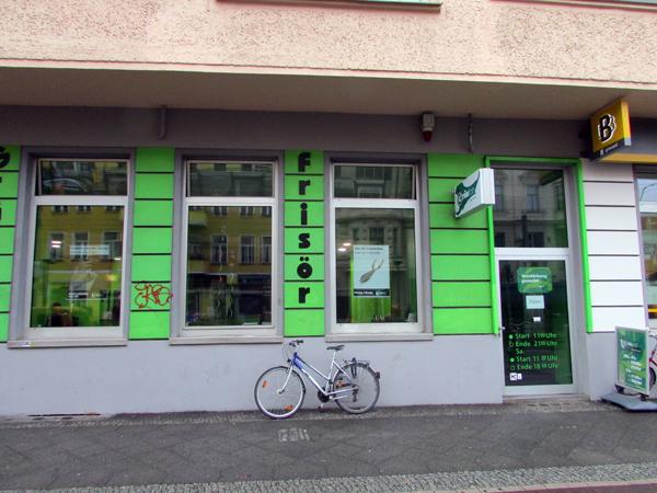 Friseur Grünton in Berlin