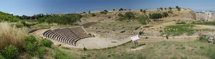 teatro greco morgantina