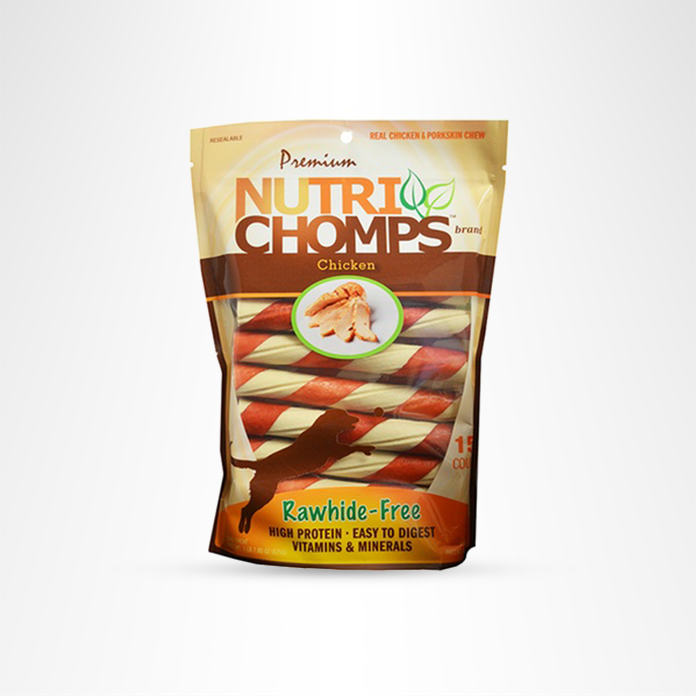 Nutri Chomps rawhide alternative treats