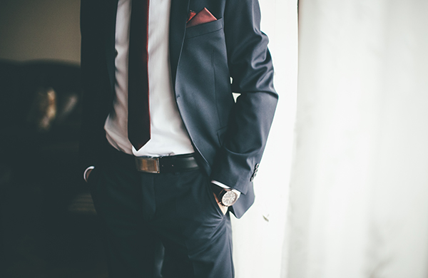 suit style details man suit without pleats
