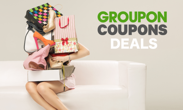 Weekly exclusive coupons & promo codes, only on Groupon