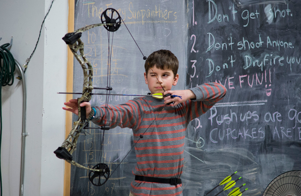 Archery For Beginners Kids