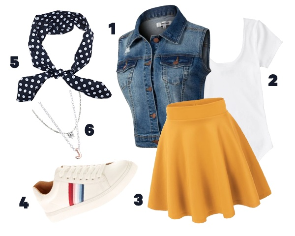 Cute First Day Of School Outfits By Walmart