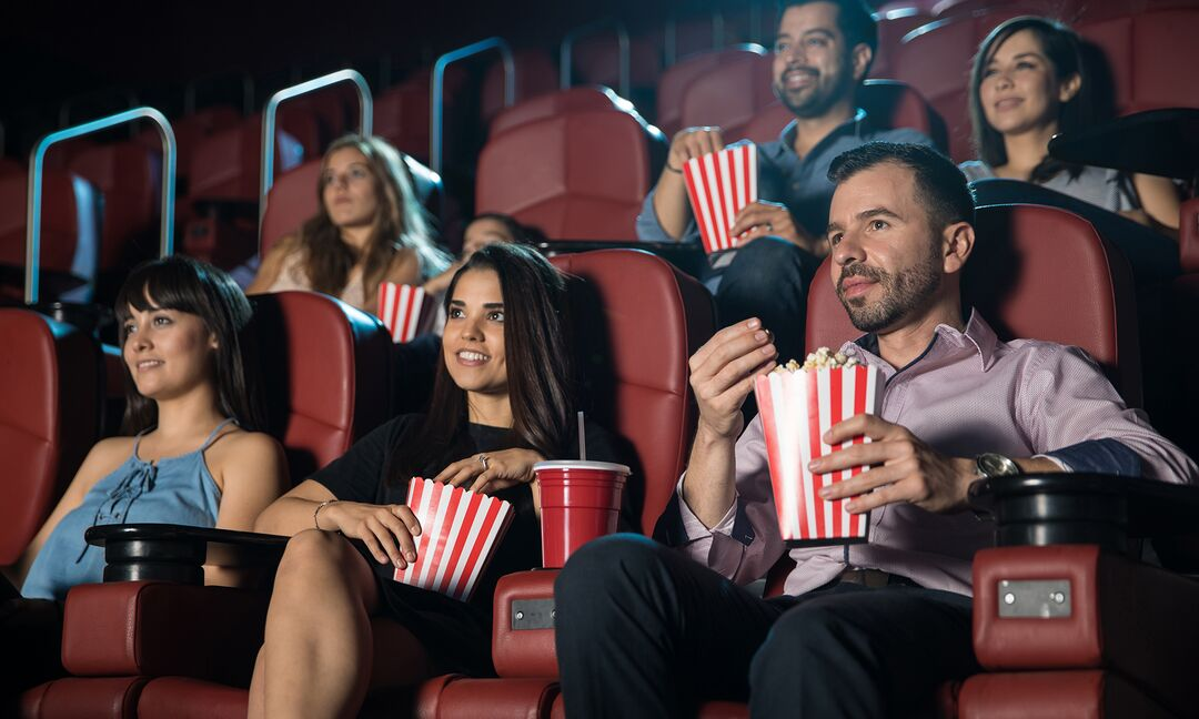 Where The Best Movie Theater Seats Are According To An Expert
