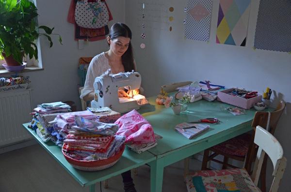 Kreative Köpfe in Köln: Jasna Janekovic - Nähen in der Küche