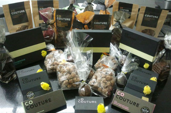 Bags of treats from Co Couture in Belfast