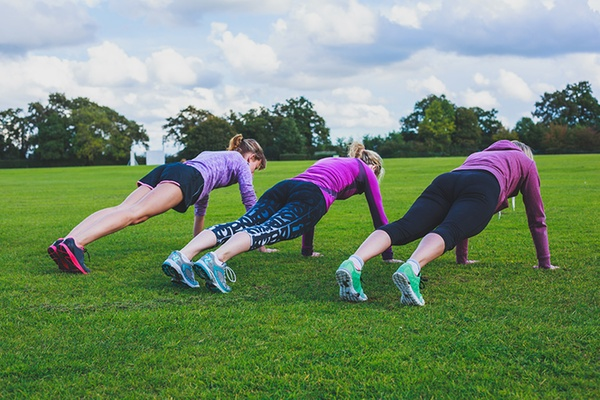 Training together helps winter fitness with Groupon