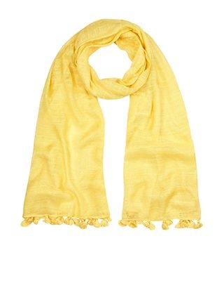 monsoon yellow scarf