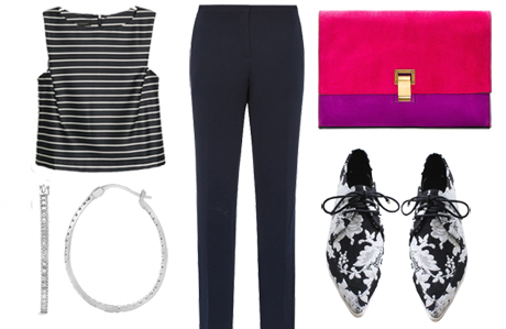 two ways to look modest in a crop top