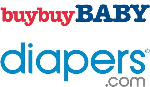 BuyBuy Baby & Diapers.com logos