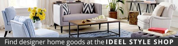 Ideel home goods banner