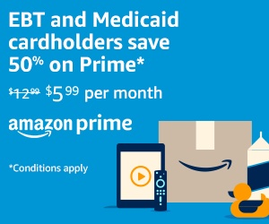 Amazon Prime EBT & Medicaid Discount