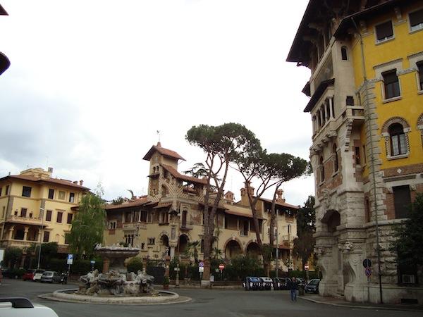Un itinerario alla scoperta del quartiere Coppedè di Roma