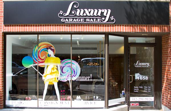 Five Finds: Designer-Label Consignment at Luxury Garage Sale