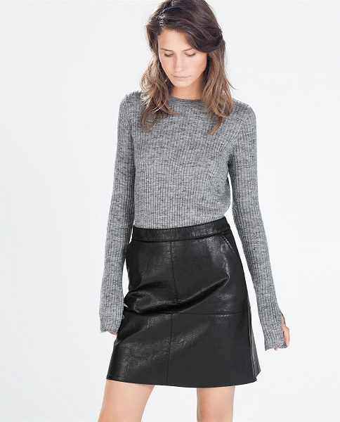 How to Wear a Leather Skirt - Style Tips and Ideas
