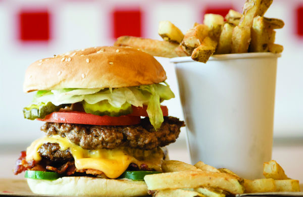 Five Guys Glasgow - Bringing the American Burger Back