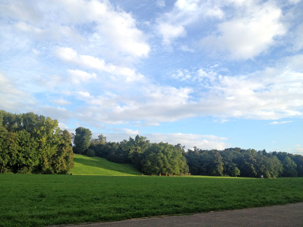 Beethovenpark in Köln Sülz