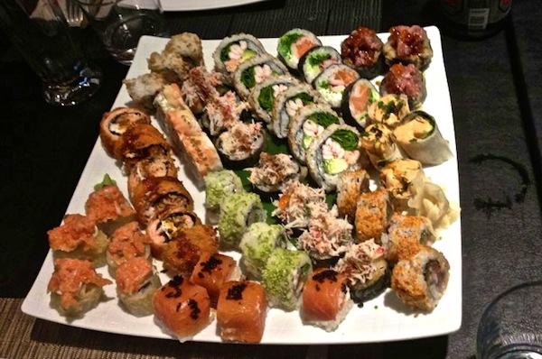 sushi migliori napoli