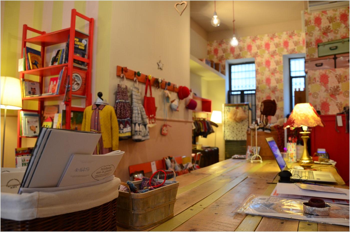 elefante con le ghette, il negozio vintage per bambini a milano - Mobili Design Per Bambini Milano