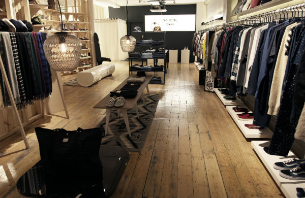 Inside Goodhood - Women's clothes shop in London