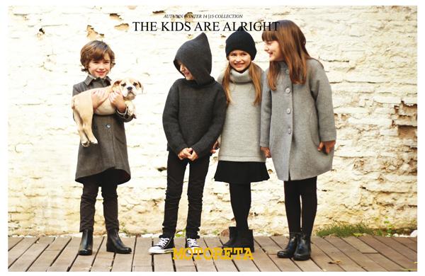 Motoreta, ropa infantil de tendencia en Sevilla