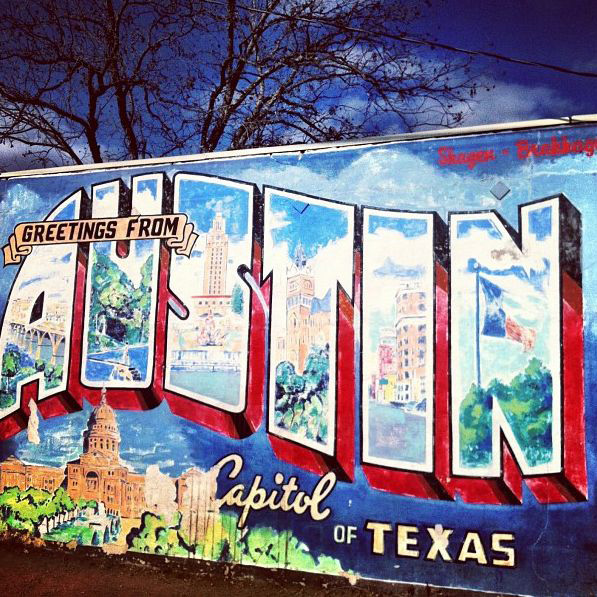 Austin things to do street art groupon for Austin mural location