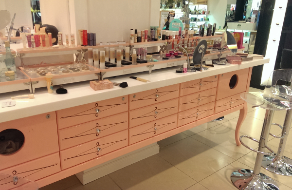 Benefit Glasgow Makeup Counter