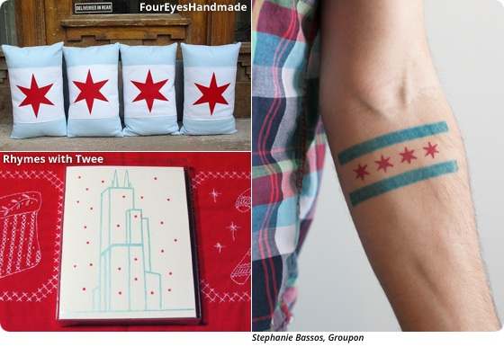 Boutique Boosterism: The Chicago Flag as Fashion Statement