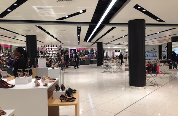 House of Fraser Shoe Department, London Oxford Street