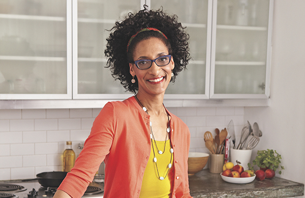 "Carla Hall of ""The Chew"" on How to Cook Buttered Peas"