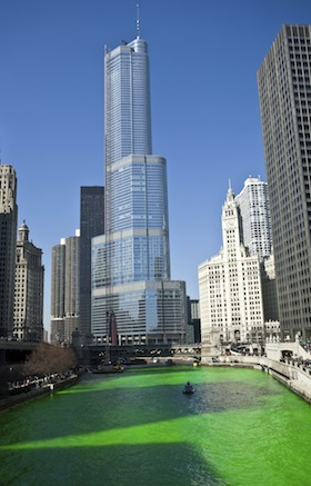 Chicago Turns Green for St. Patrick's Day