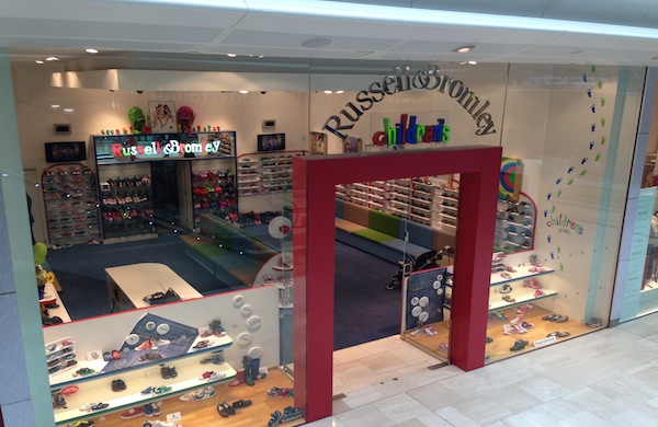 Russell and Bromley Kids Store Westfield London